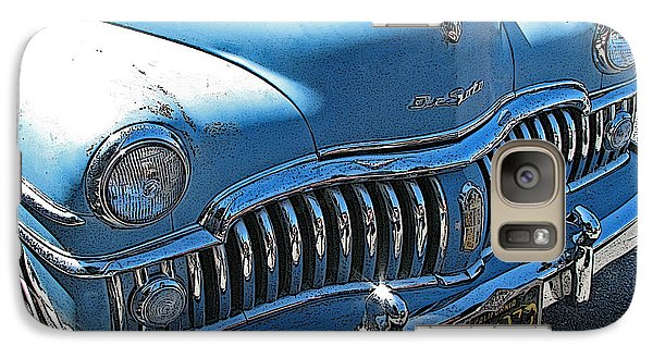 Galaxy Case featuring the photograph Derelict Desoto by Samuel Sheats