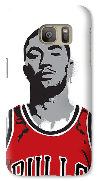 Derrick Rose Galaxy Case by Mike Maher
