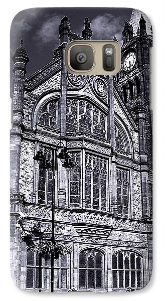 Galaxy Case featuring the photograph Derry Guildhall by Nina Ficur Feenan