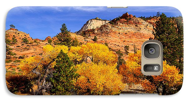 Galaxy Case featuring the photograph Desert Autumn by Greg Norrell