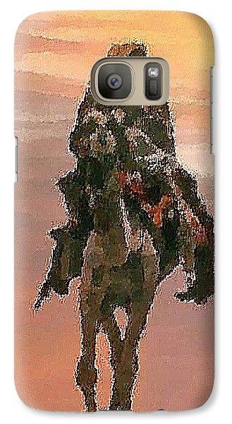 Galaxy Case featuring the digital art Desert. Bedouin. by Dr Loifer Vladimir