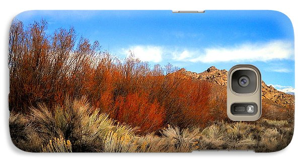 Galaxy Case featuring the photograph Desert Colors by Marilyn Diaz