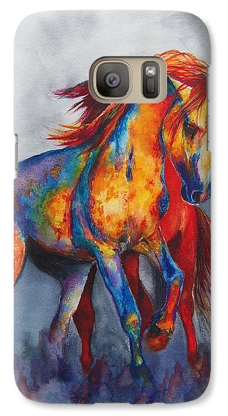 Galaxy Case featuring the painting Desert Dance by Karen Kennedy Chatham