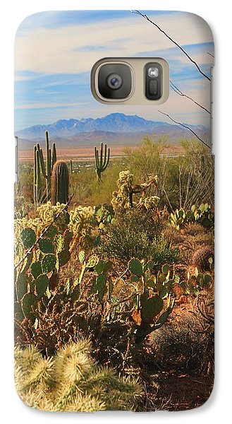 Galaxy Case featuring the photograph Desert Day by Alicia Knust