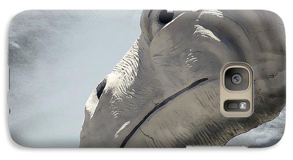 Galaxy Case featuring the photograph Desert Dino by Carolina Liechtenstein