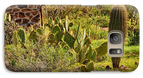 Galaxy S7 Case featuring the photograph Desert Dream by Mark Myhaver