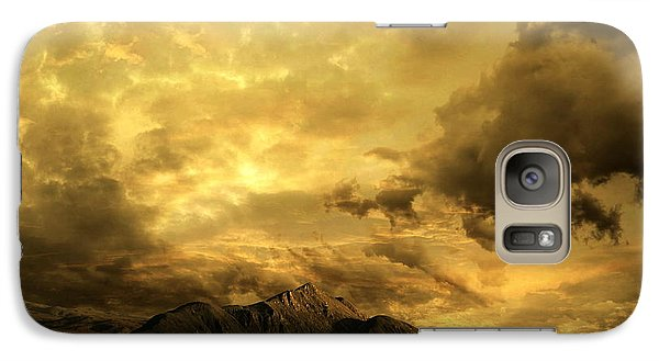 Galaxy Case featuring the photograph Desert Evening by Franziskus Pfleghart