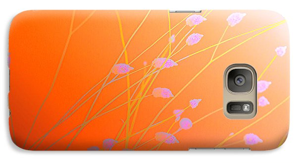Galaxy Case featuring the photograph Desert Flowers by Holly Kempe