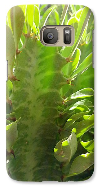 Galaxy Case featuring the pyrography Desert Light by Suzanne Silvir