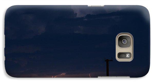 Galaxy Case featuring the photograph Desert Monsoon by Carolina Liechtenstein