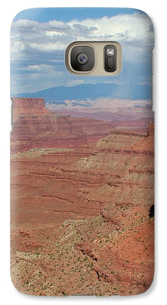 Galaxy Case featuring the photograph Desert Rain by Jon Emery