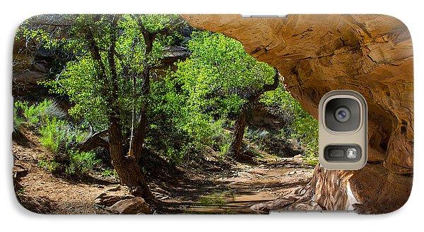 Galaxy Case featuring the photograph Desert Runoff by Rhys Arithson