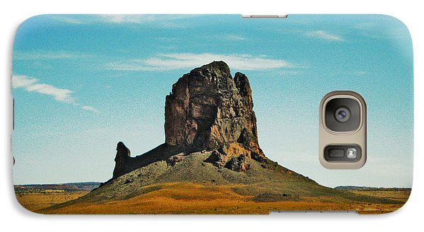 Galaxy Case featuring the photograph Desert Sentinel by Sylvia Thornton
