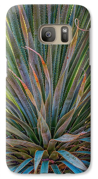 Galaxy Case featuring the photograph Desert Spoon by Beverly Parks
