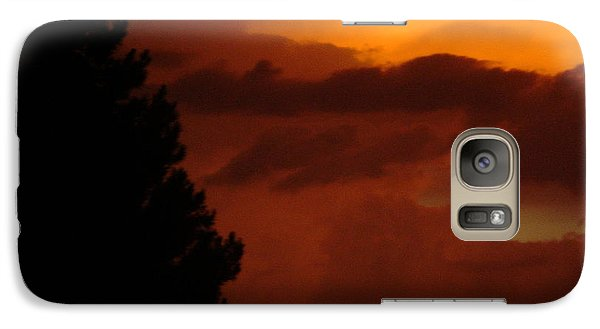 Galaxy Case featuring the photograph Desert Storm by Carla Carson