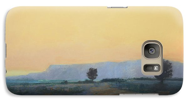 Galaxy Case featuring the painting On To California by Cap Pannell