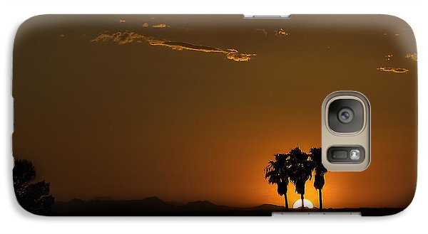 Desert Sunset Galaxy S7 Case by Lynn Geoffroy