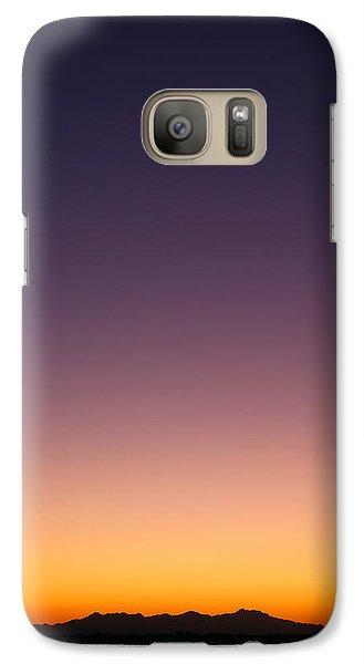 Desert Twilight Galaxy S7 Case