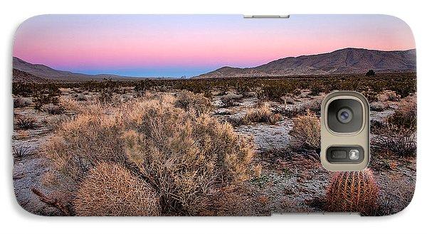 Desert Galaxy S7 Case - Desert Twilight by Peter Tellone