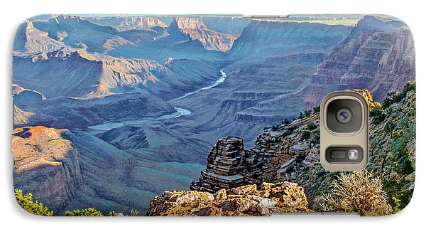 Desert View-morning Galaxy S7 Case by Paul Krapf