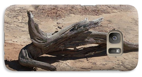 Galaxy Case featuring the photograph Desert Wildwood by Fortunate Findings Shirley Dickerson
