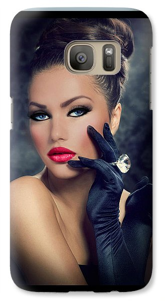Galaxy Case featuring the digital art Desired by Karen Showell