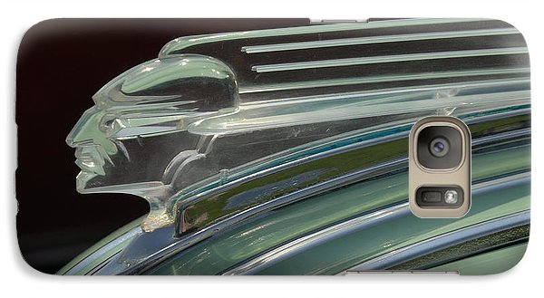 Galaxy Case featuring the photograph Desoto Hood Ornament  by Craig Perry-Ollila