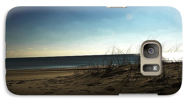 Galaxy Case featuring the photograph Destin Beach Sun Glare by Donald Williams