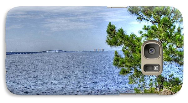 Galaxy Case featuring the photograph Destin Midbay Bridge by Donald Williams