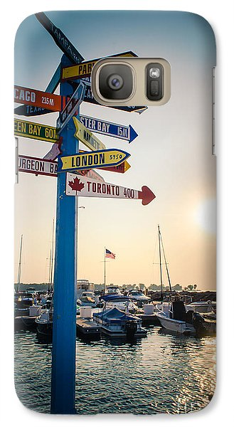 Galaxy Case featuring the photograph Destination Egg Harbor by Mark David Zahn