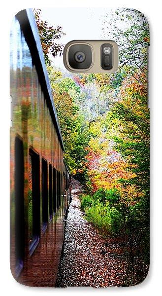 Galaxy Case featuring the photograph Destination by Faith Williams