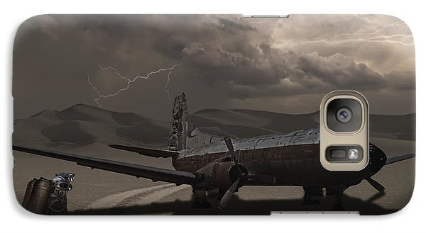 Galaxy Case featuring the photograph Destination Known by Keith Kapple