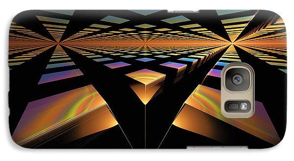 Galaxy Case featuring the digital art Destination Paths by GJ Blackman