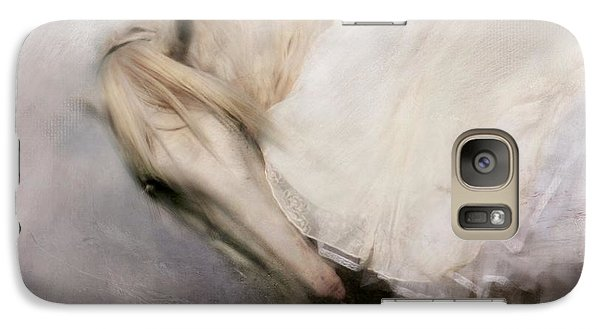 Galaxy Case featuring the painting Detail by Dorota Kudyba