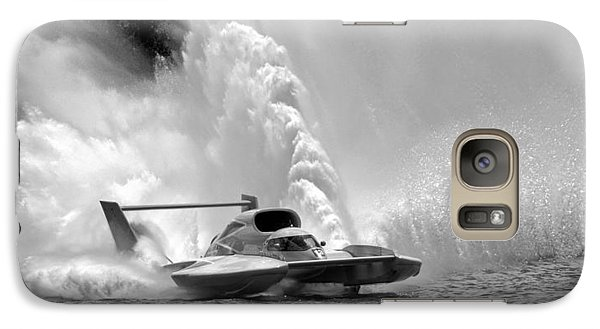 Galaxy Case featuring the photograph Detroit Gold Cup Race by Geraldine Alexander