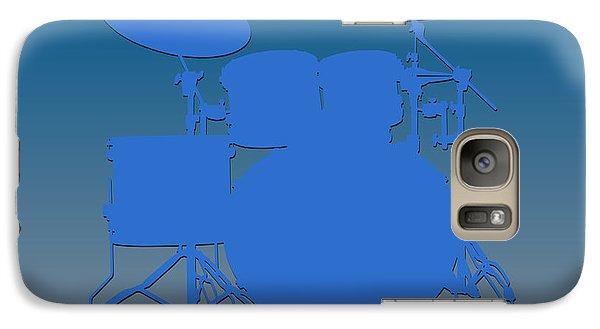 Detroit Lions Drum Set Galaxy S7 Case by Joe Hamilton
