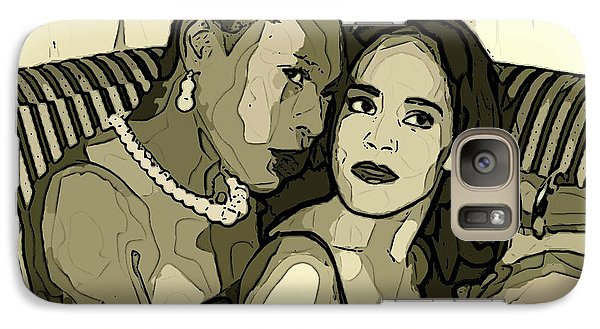 Galaxy Case featuring the photograph Deux by Alice Gipson