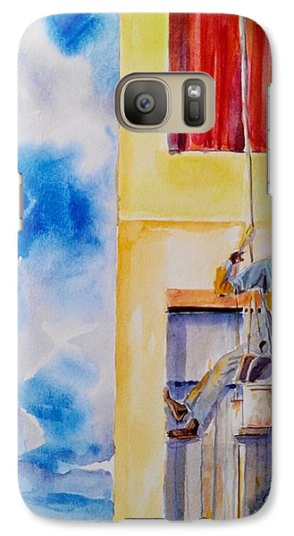Galaxy Case featuring the painting Developing Country by Geeta Biswas