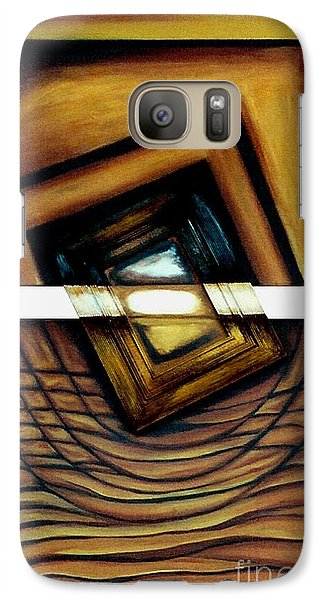 Galaxy Case featuring the painting Deversity View by Fei A