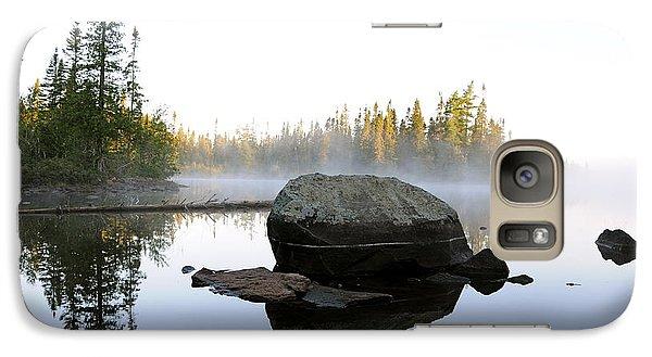Galaxy Case featuring the photograph Devilfish Dawn by Sandra Updyke