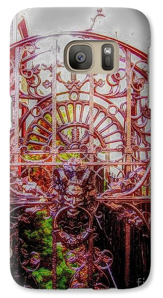 Galaxy Case featuring the photograph Devils Gate by Becky Lupe