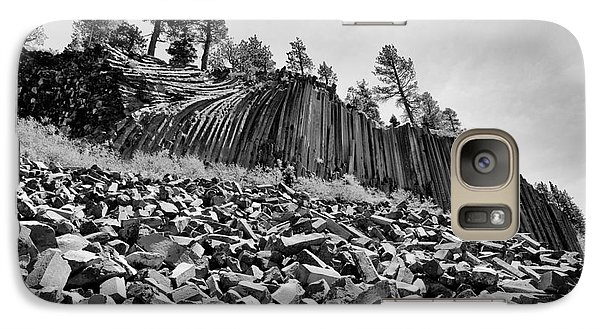 Galaxy Case featuring the photograph Devils Postpile National Monument by Terry Garvin
