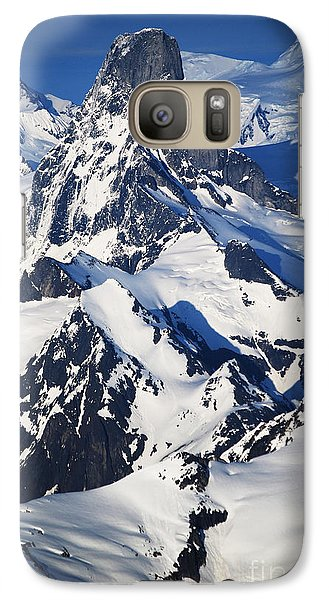 Galaxy Case featuring the photograph Devil's Thumb From The Air by Cynthia Lagoudakis