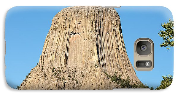 Galaxy Case featuring the photograph Devils Tower by John M Bailey