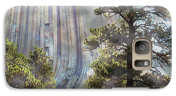 Galaxy Case featuring the photograph Devil's Tower Wyoming by Ann Johndro-Collins