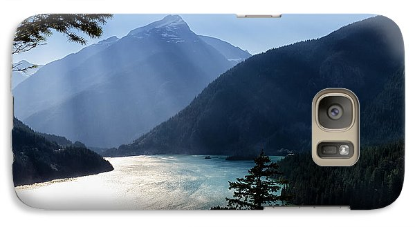 Galaxy Case featuring the photograph Diablo Lake by Charles Lupica