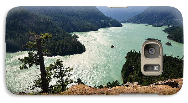 Galaxy Case featuring the photograph Diablo Lake by Kelly Reber