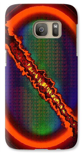 Galaxy Case featuring the photograph Split by Kellice Swaggerty