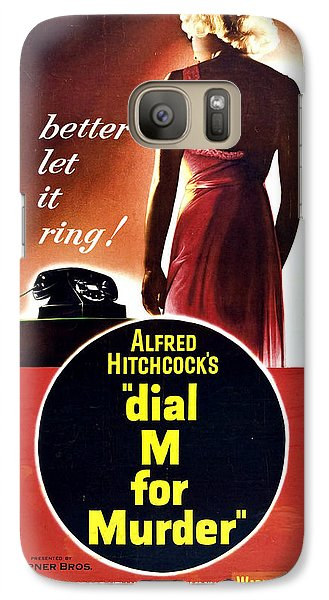 Dial M For Murder - 1954 Galaxy S7 Case by Georgia Fowler