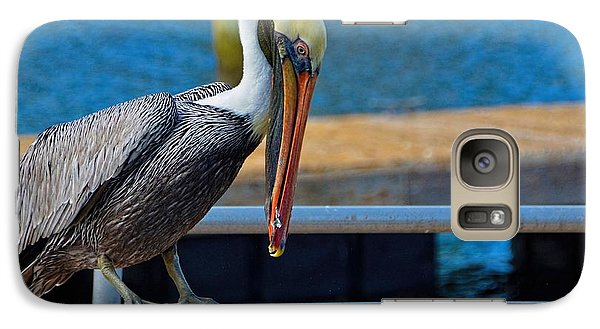 Galaxy Case featuring the photograph Did I Drop Something by Pamela Blizzard